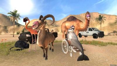 Tải game Goat Simulator Payday - Động vật làm loạn Android