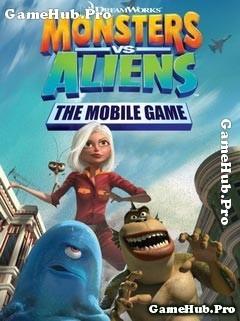 Tải game Monsters vs Aliens - Giải cứu trái đất cho Java