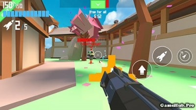 Tải game Rocket Shock 3D - Bắn súng Rocket Online Android