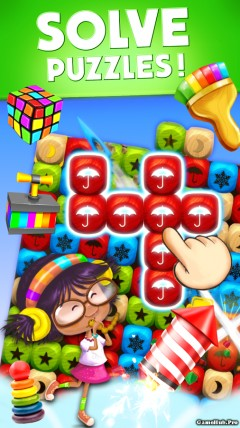 Tải game Toy Blast Party Time - Phá khối gạch Mod Android