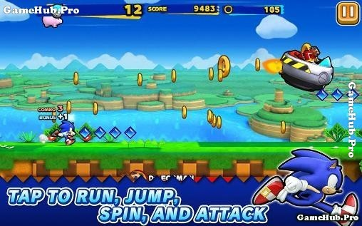 Tải Game Sonic Runners Apk Cho Android miễn phí