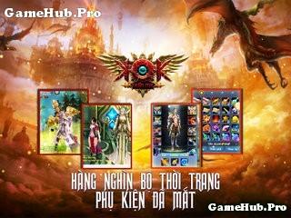Tải Game Thần Ma KOK Cho Android IOS gMO MMORPG 3D