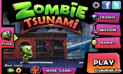Tai game zombie tsunami hack full tien cho android