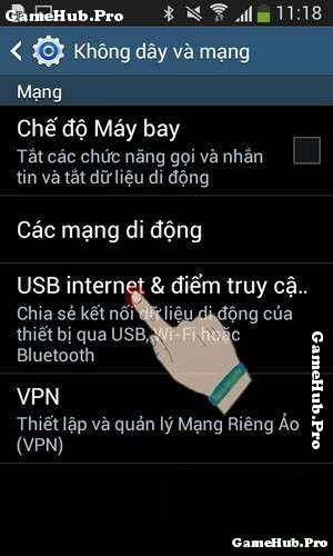 Hướng dẫn chia sẻ mạng Wifi qua Bluetooth cho Android
