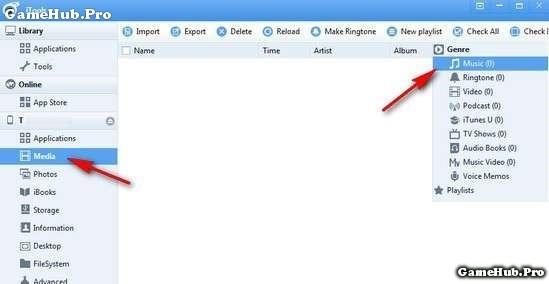 Hướng dẫn copy nhạc bằng iTools cho iPhone, iPad dễ dàng