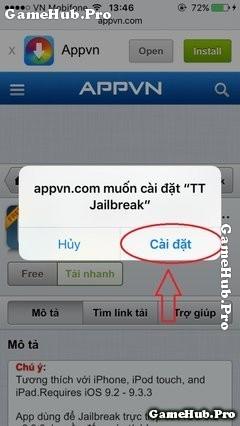Hướng dẫn Jailbreak iOS 9.3.3 trực tiếp trên iPhone, iPad