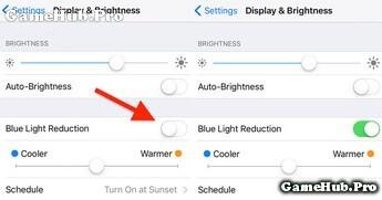 Hướng dẫn sửa lỗi Night Shift trên iOS 9 không hoạt động