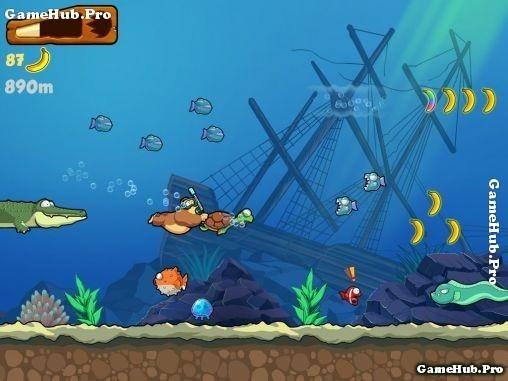 Tải game Banana Kong - Nhập vai Khỉ Phiêu Lưu Android