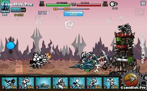 Tải game Cartoon Wars 3 - Nhập vai người Que cho Android