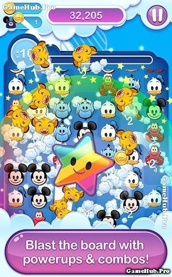 Tải game Disney Emoji Blitz - Câu đố dễ thương Android