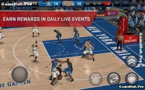 Tải game NBA LIVE Mobile - Chơi bóng rổ cho Android