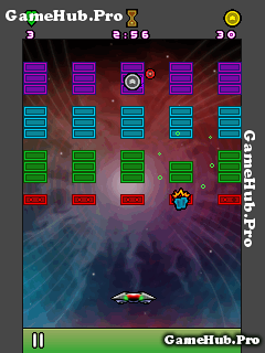 Tải game Neon Breaker - Tiêu diệt phá hủy hình Khối Java
