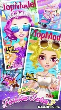Tải game Princess Makeup Salon 3 - Thợ trang điểm Android