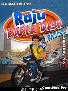 Tải game Raju Paper Dash Deluxe - Xe đạp giao thư Java