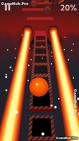 Tải game Rolling Sky - Quả bóng phiêu lưu cho Java