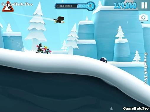 Tải game Ski Safari 2 - Trượt ván cùng Sven cho Android