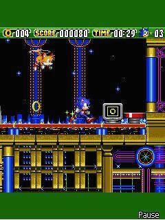 Tải game Sonic the Hedgehog 2 Dash - Nhập vai Sonic Java