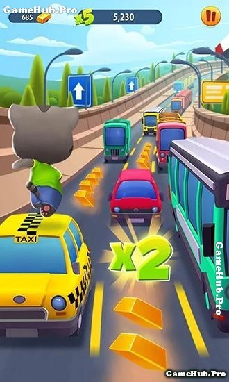 Tải game Talking Tom Gold Run - Đuổi bắt cướp Android
