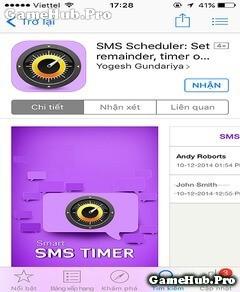 Hướng dẫn tự động gửi tin nhắn trên iPhone, iPad