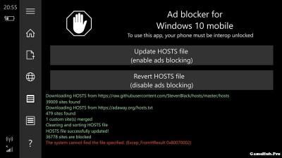 Cách cài AdBlock (chặn quảng cáo) trên Windows Phone