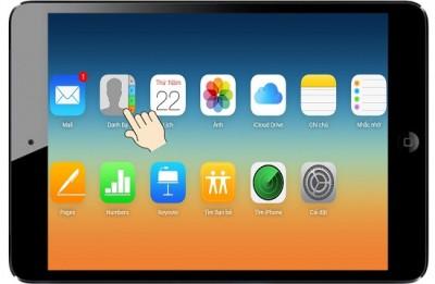 Hướng dẫn cách chép danh bạ file vcf vào iPhone