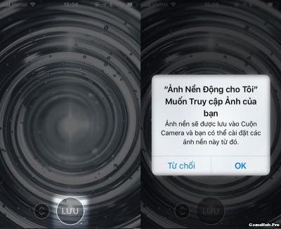Hướng dẫn cách làm hình nền động 3D Touch cho iPhone