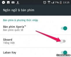 Cách sử dụng bàn phím dịch tự động trên Android