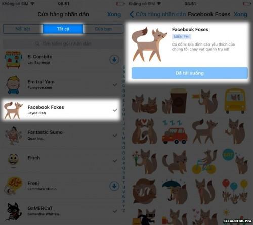 Cách thả hiệu ứng bong bóng đẹp trên Facebook Messenger