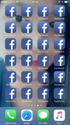 Cách Troll bạn bè bằng việc tạo nhiều icon App Facebook