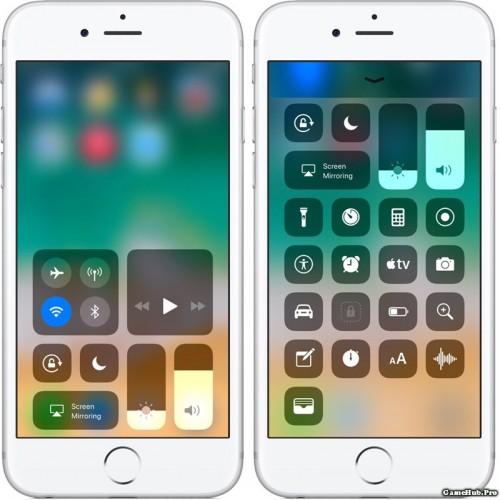 Cách tùy chỉnh Control Center trên iOS 11 theo ý mình