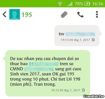 Chuyển SIM thường sang SIM sinh viên Viettel tại nhà