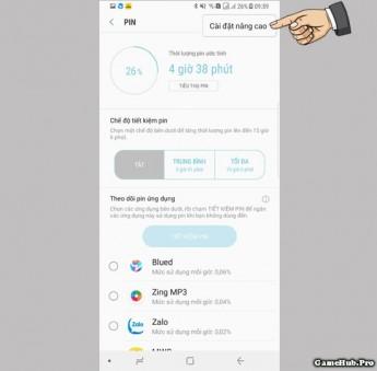 Lỗi điện thoại Samsung hỗ trợ sạc nhanh nhưng lâu đầy