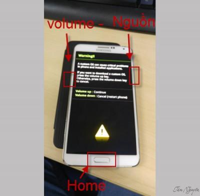 Hướng dẫn cách Root điện thoại Galaxy Note 3 dễ dàng