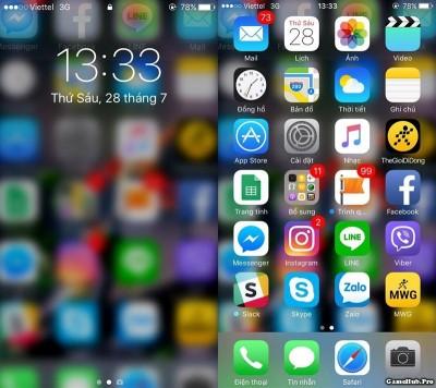 Hướng dẫn cách tạo hình nền mờ ảo trên iPhone cực đẹp