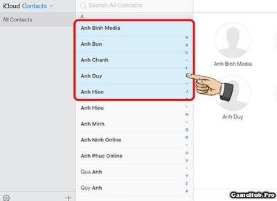 Hướng dẫn cách xóa hết danh bạ trên iCloud dễ dàng