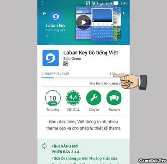 Hướng dẫn sửa lỗi Rất tiếc bàn phím đã dừng lại Android