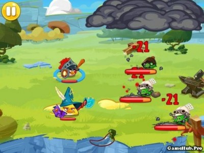 Tải game Angry Birds Epic RPG - Mod full Tiền cho Android