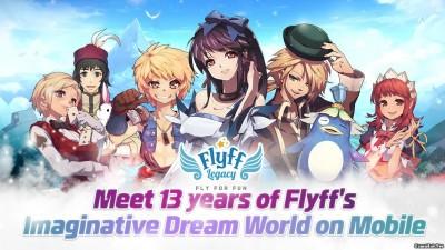 Tải game Flyff Legacy - Nhập vai phiêu lưu 3D Android