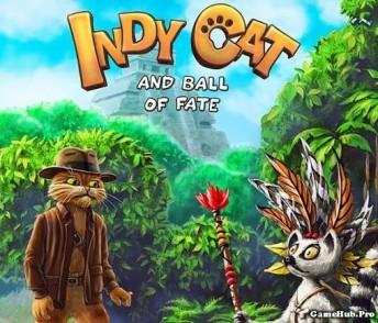 Tải game Indy Cat Match 3 phiên bản Mod tiền cho Android