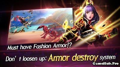 Tải game Lady Knights - Hiệp Sĩ Nữ Mod DMG/HP Android