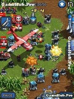 Tải game Mega Tower Assault - Hack Full Shop cho Java