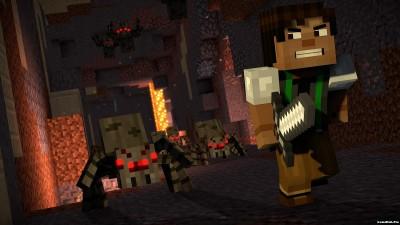 Tải game Minecraft Story Mode - Season 2 phiêu lưu Android