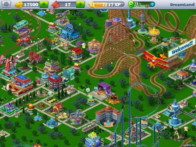 Tải game RollerCoaster Tycoon 4 Mobile Mod Money Android