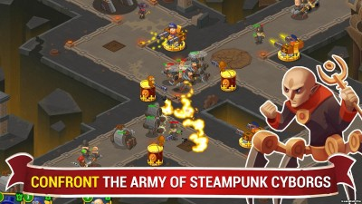 Tải game Steampunk Syndicate 2 - Phòng thủ cho Android