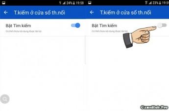 Hướng dẫn tắt biểu tượng kính lúp tìm kiếm trên Samsung