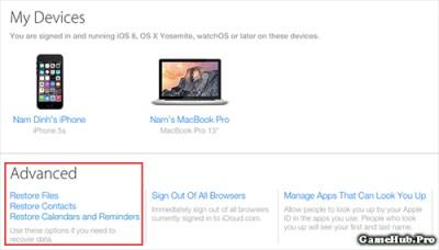 Thủ thuật khôi phục dữ liệu đã xóa trên iCloud