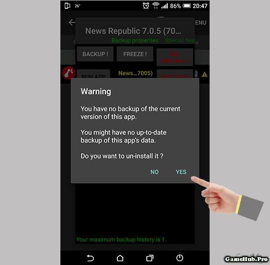 Hướng dẫn xóa ứng dụng hệ thống khi đã Root trên Android