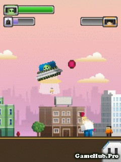 Tải Game Aliens VS Heroes Điều Khiển UFO Cho Java