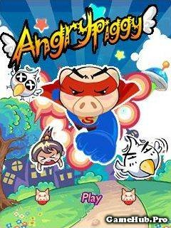 Tải Game Angry Piggy - Những Chú Lợn Điên Cho Java