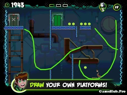 Tải Game Ben 10 Cavern Run Apk Cho Android miễn phí